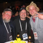 Jon Goldman (Director, Woods Hole Film Festival), Jay Spain (Moving Midway), Luke Adams